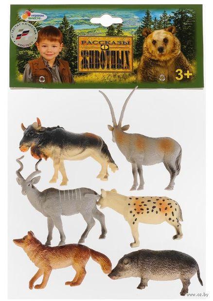 """Набор фигурок """"Дикие животные леса"""" (6 шт.) — фото, картинка"""