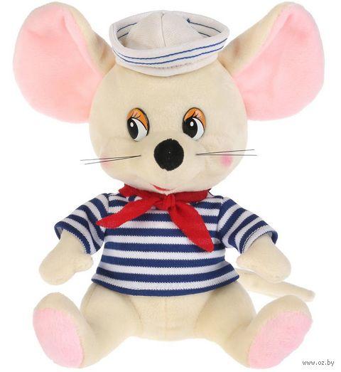"""Мягкая игрушка """"Мышка-морячок"""" (18 см) — фото, картинка"""