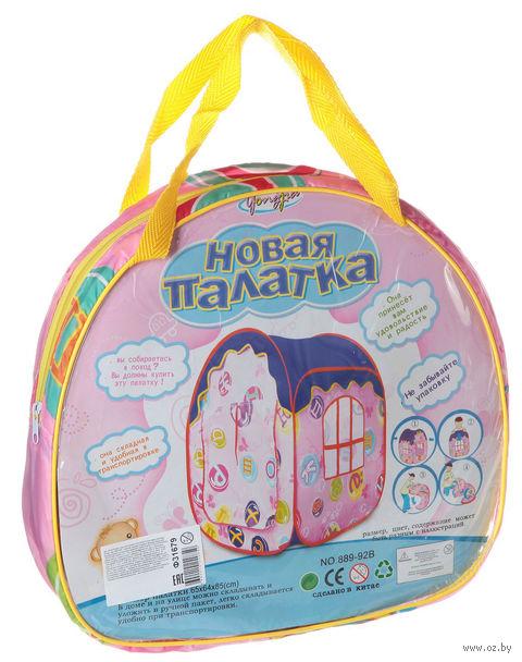 """Детская игровая палатка """"Домик с окном"""" (арт. Ф31679) — фото, картинка"""