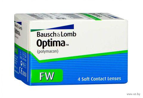 "Контактные линзы ""Optima FW"" (1 линза; -0,5 дптр; 8,4 мм) — фото, картинка"