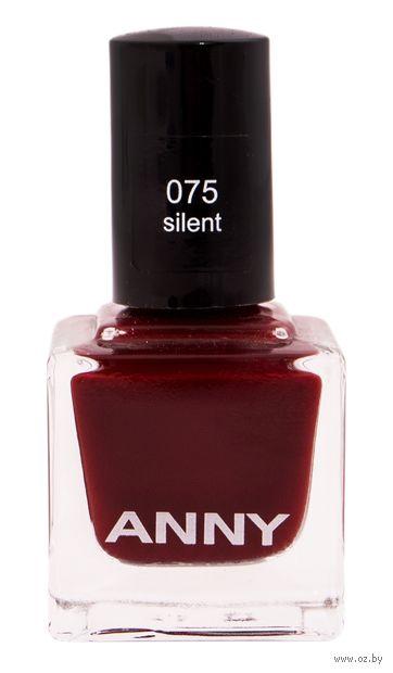 """Лак для ногтей """"Anny Nail Polish"""" (тон: 075, silent) — фото, картинка"""