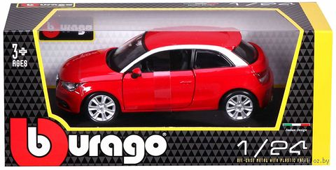 """Модель машины """"Bburago. Star Audi A1"""" (масштаб: 1/24) — фото, картинка"""
