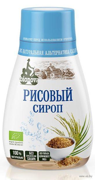 "Сироп рисовый ""Bionova"" (230 г) — фото, картинка"