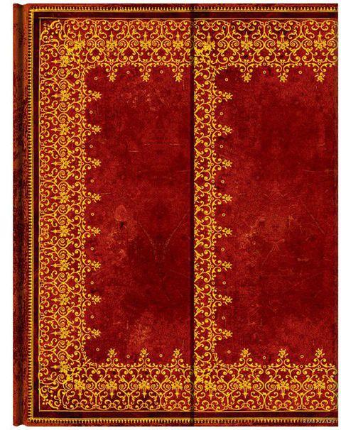 """Записная книжка Paperblanks """"Фольгированное тиснение"""" в линейку (формат: 180*230 мм, ультра)"""