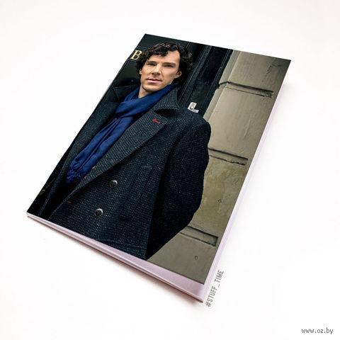 """Блокнот """"Шерлок"""" (А5; арт. 353) — фото, картинка"""