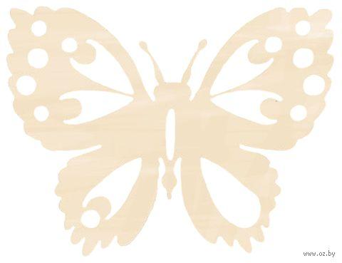 "Заготовка деревянная ""Бабочка 2"" (150х116 мм) — фото, картинка"