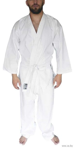 Кимоно для карате отбеленное AX1 (р. 28-30/130) — фото, картинка