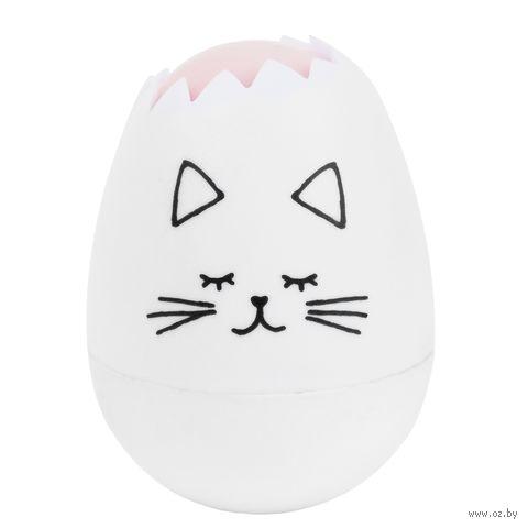 """Корректор """"Яйцо. Котик"""" (белый) — фото, картинка"""