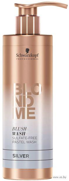 "Оттеночный шампунь для волос ""Blond Me. Blush Wash"" тон: silver — фото, картинка"