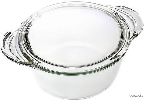 Кастрюля стеклянная круглая (1,75 л)