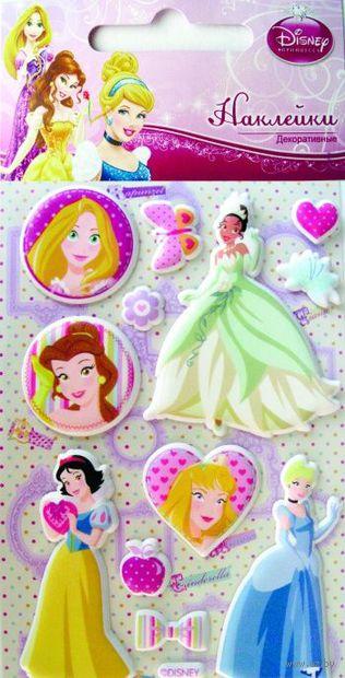 """Наклейки зефирные """"Disney. Принцессы 4"""""""
