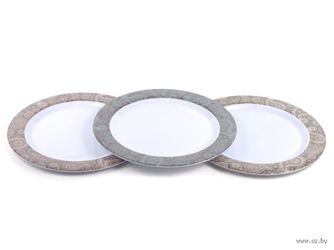 Тарелка пластмассовая (250 мм; арт. 177000660)