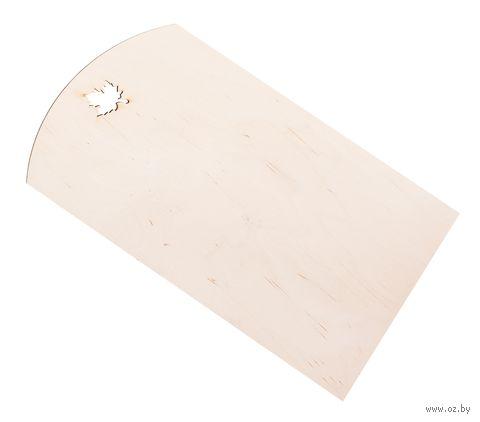 Доска разделочная деревянная (фанера, 18*30 см, арт. BB101251)
