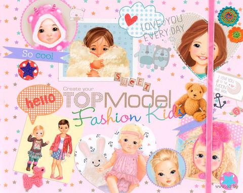 """Раскраска """"TOPModel. Fashion Kids"""" (+ наклейки) — фото, картинка"""