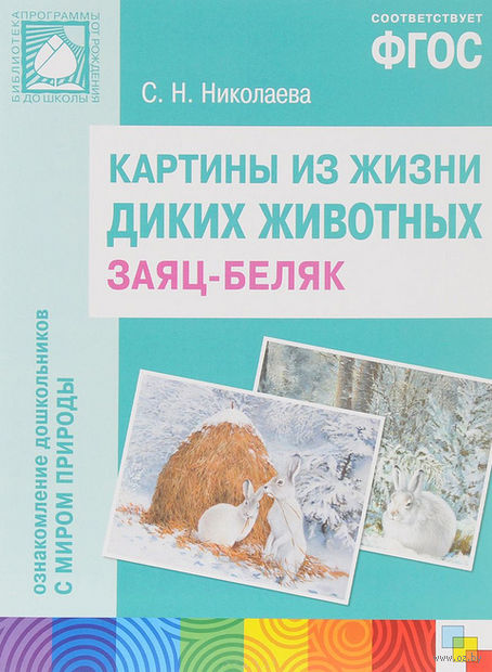 Заяц-беляк. Картины из жизни диких животных. Светлана Николаева