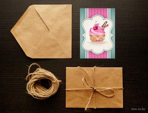 "Открытка ""Cupcake"" (art. 5)"