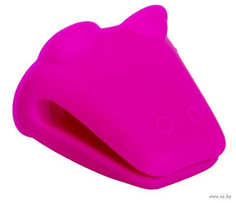 Прихват силиконовый (90x105 мм; фиолетовый) — фото, картинка