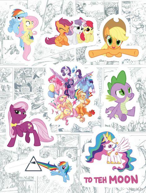 "Набор глянцевых наклеек №190 ""My Little Pony"" — фото, картинка"