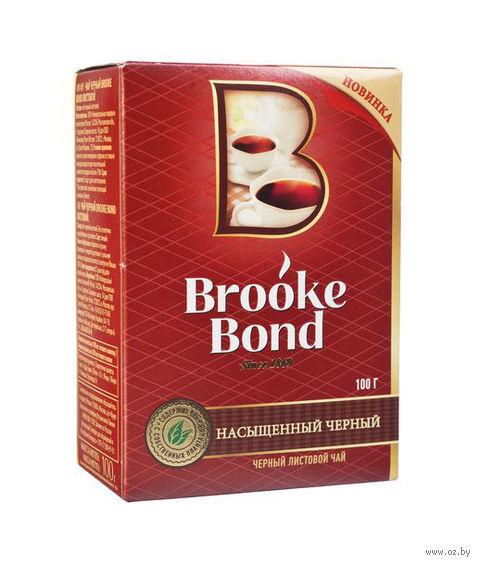 """Чай черный листовой """"Brooke Bond"""" (100 г) — фото, картинка"""