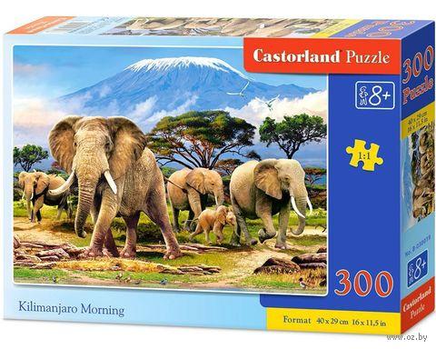 """Пазл """"Утро в Килиманджаро"""" (300 элементов) — фото, картинка"""