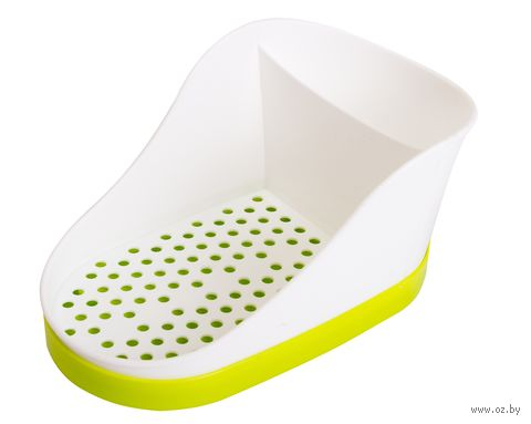 Подставка для моющего средства и губки (салатовая) — фото, картинка