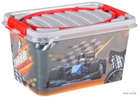 """Ящик для хранения игрушек """"Форсаж"""" (арт. М6727) — фото, картинка"""