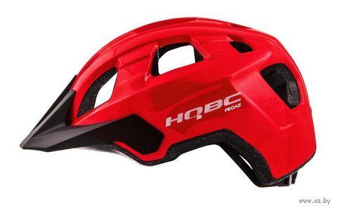 """Шлем велосипедный """"Peqas"""" (L; красный; арт. Q090382L) — фото, картинка"""