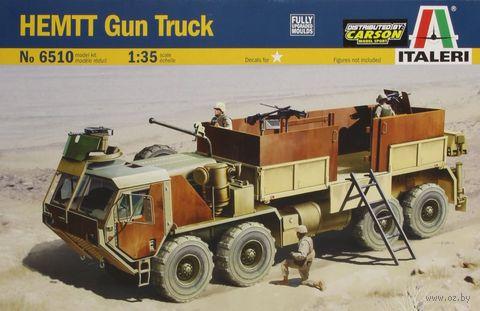 """Сборная модель """"Бронированный вооружённый грузовик HEMTT"""" (масштаб: 1/35) — фото, картинка"""