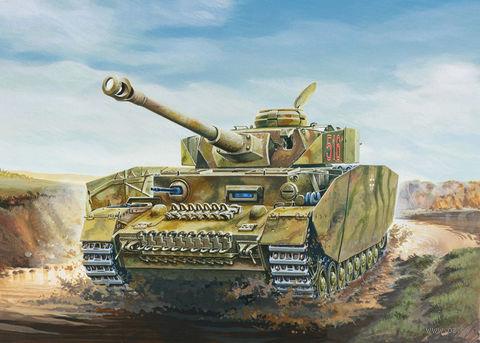 "Средний танк ""Sd. Kfz. 161/2 Pz. Kpfw. IV Ausf. H"" (масштаб: 1/35) — фото, картинка"