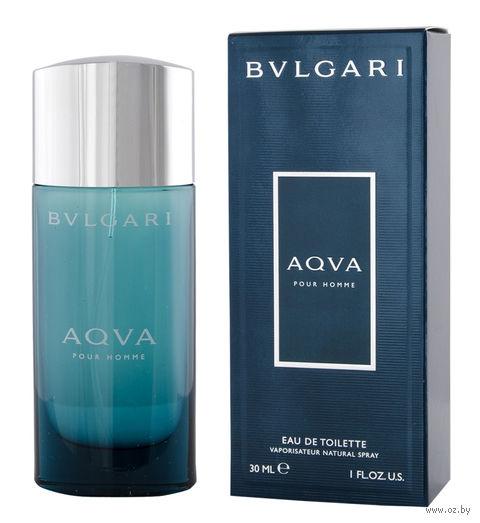 "Туалетная вода для мужчин Bvlgari ""Aqva"" (30 мл) — фото, картинка"