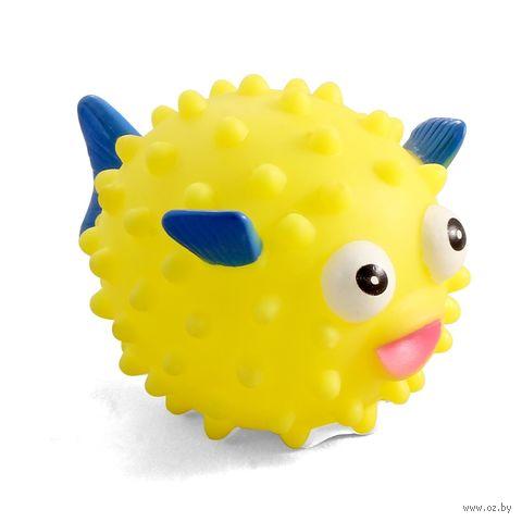 """Игрушка для собак с пищалкой """"Рыба-еж"""" (11,2 см) — фото, картинка"""