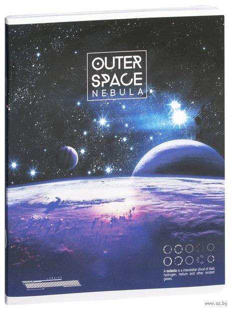 """Тетрадь полуобщая в клетку """"Outer Space"""" (48 листов; в ассортименте) — фото, картинка"""