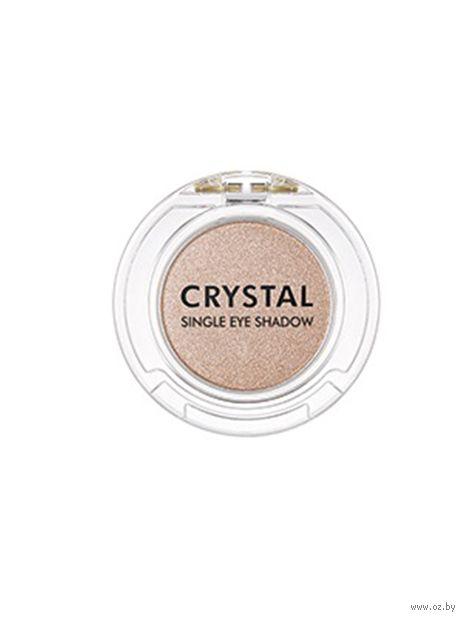"Тени для век ""Crystal Single"" тон: S11, crying beige — фото, картинка"