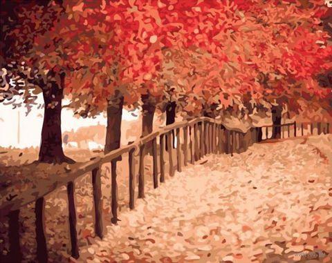 """Картина по номерам """"Осенняя пора"""" (400х500 мм)"""