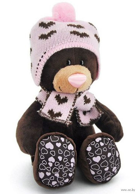 "Мягкая игрушка ""Медведь Milk. Зима"" (25 см) — фото, картинка"