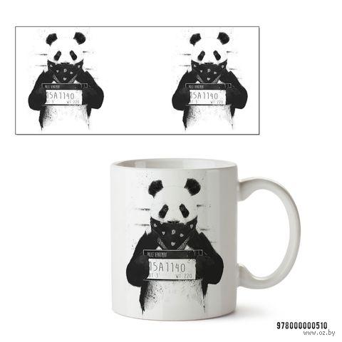 """Кружка """"Панда"""" (белая; арт. 510) — фото, картинка"""