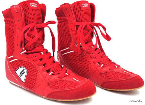 Обувь для бокса PS005 (р. 46; красная) — фото, картинка