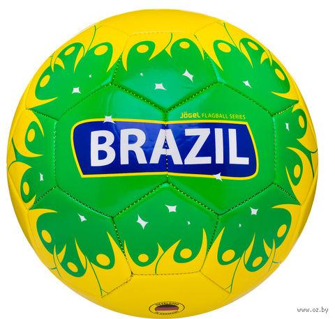 """Мяч футбольный Jogel """"Brazil"""" №5 — фото, картинка"""
