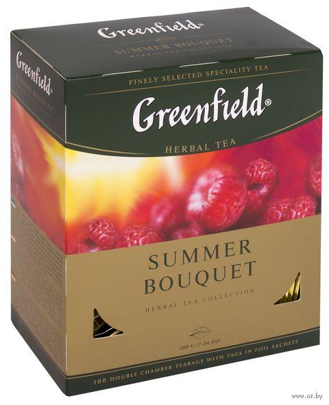 """Чай красный """"Greenfield. Summer Bouquet"""" (100 пакетиков) — фото, картинка"""