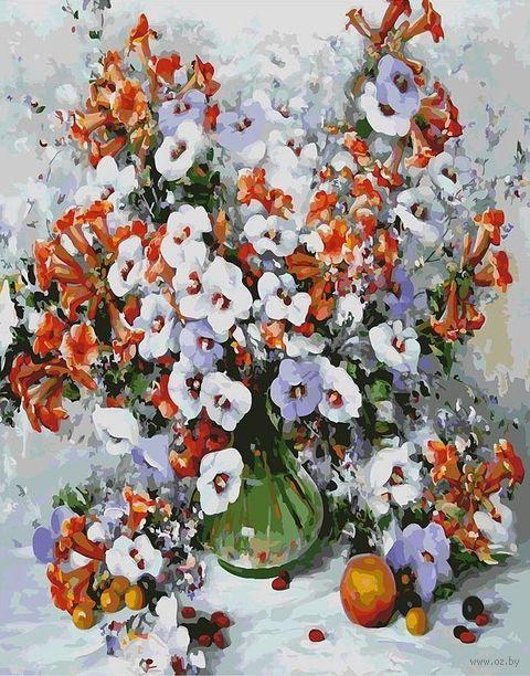 """Картина по номерам """"Городские цветы"""" (500х400 мм) — фото, картинка"""