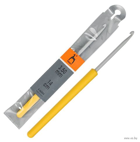 Крючок для вязания (металл; 3,5 мм) — фото, картинка