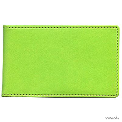 """Футляр для кредитных карт Time/System """"Skiver"""" (green)"""