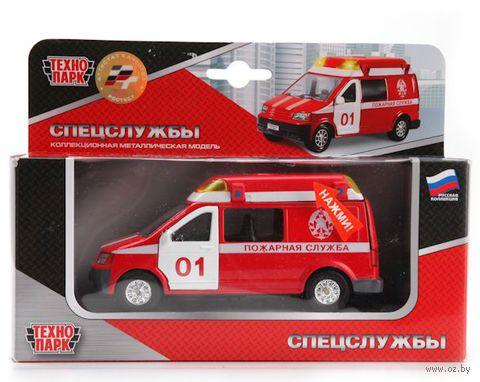 """Модель машины """"Микроавтобус. Пожарная служба"""""""