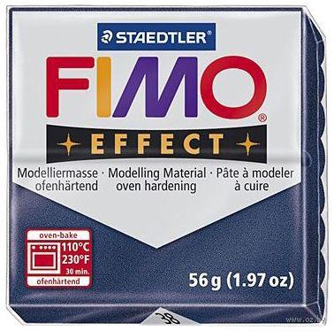 """Глина полимерная """"FIMO Effect"""" (сапфир; 56 г) — фото, картинка"""