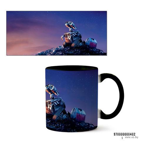 """Кружка """"Wall-e"""" (черная) — фото, картинка"""