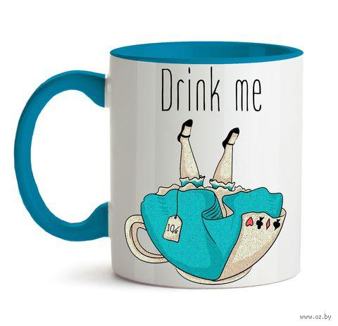 """Кружка """"Drink me"""" (572)"""