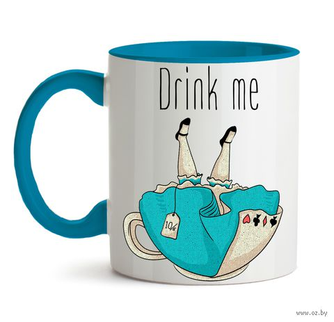 "Кружка ""Drink me"" (арт. 572) — фото, картинка"