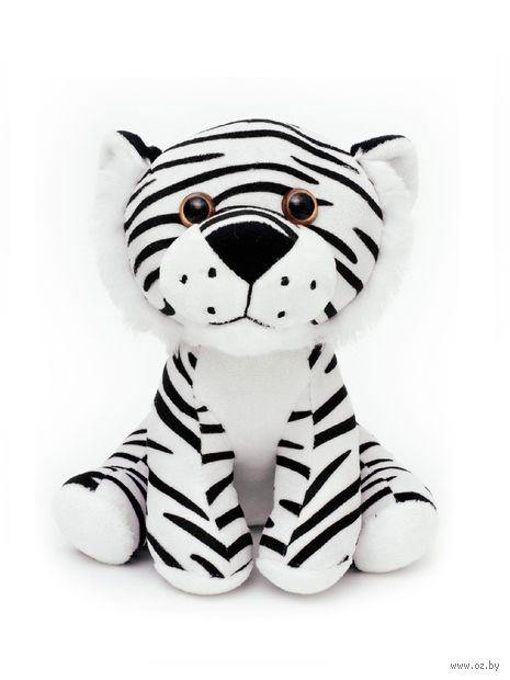 """Мягкая игрушка """"Тигр"""" (21 см; черно-белый) — фото, картинка"""