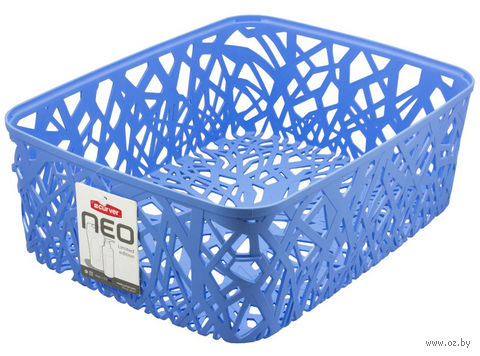 """Корзина """"Neo colors"""" (377х290х127 мм; голубая)"""
