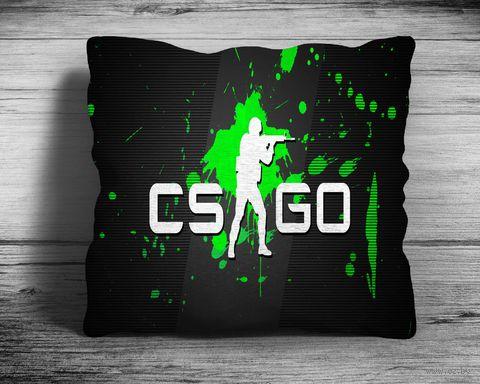 "Подушка ""Counter Strike Go"" (арт. 6; 28х28 см) — фото, картинка"